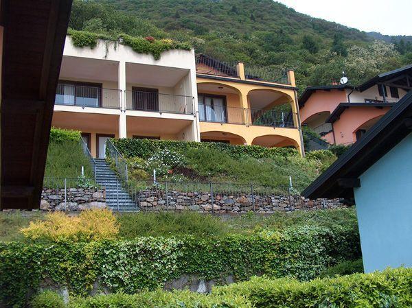 Oggebbio appartamento vista lago con ascensore e terrazzo AA1762